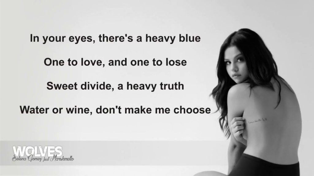 wolves gomez lyrics